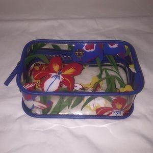 Tory Burch Bags - Tory Burch Clear Cosmetic Case